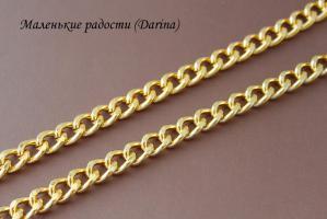 Цепочка, золотистый, 12х8 мм, 50 см