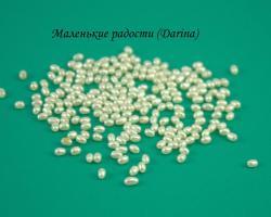 Бусина Жемчуг белый рис 2,7х1,9+- мм