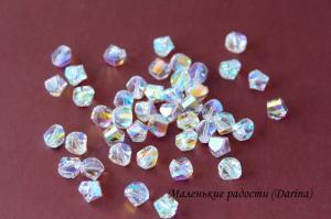Бусина, кристалл Swarovski, 8х7 мм