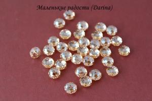 Бусина, кристалл Swarovski, рондель, 8х5,5 мм