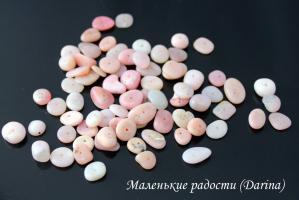 Опал розовый, чипсы, 12-3+- мм